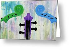 The Colors Of Music Greeting Card