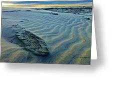 The Colors Of Sand Greeting Card