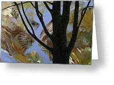 The Colors That Are Not Leaves Greeting Card