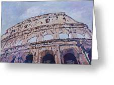 The Colossus  Greeting Card