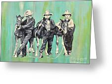 The Colt Whisperers Greeting Card