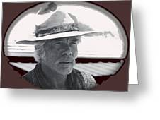 The Commancheros Homage 1961 Lee Marvin Monte Walsh Old Tucson Arizona Greeting Card
