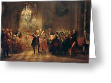 The Concert Greeting Card