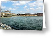 The Conowingo Dam Greeting Card