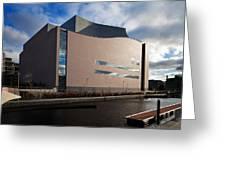 The Convention Centre Dublin , Dublin Greeting Card
