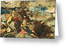 The Conversion Of Saint Paul Greeting Card