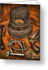 The Copper's Gear - Police Officer Greeting Card