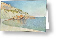 The Cote D Azur Greeting Card