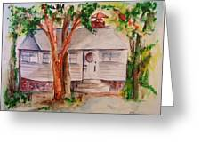 The Cottage In The Highlands Greeting Card