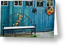 The Country Forge Greeting Card