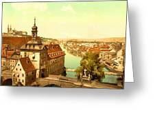 The Court House-bamberg-bavaria-germany - Between 1890 And 1900 Greeting Card