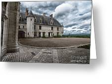 The Courtyard Greeting Card
