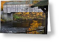 The Covered Bridge Greeting Card