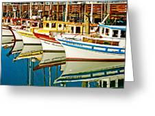 The Crab Fleet Greeting Card