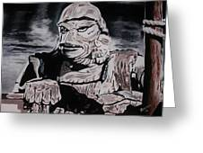 The Creature From The Black Lagoon Greeting Card