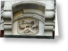 The Crest Of The Christchurch City Council Greeting Card