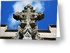 The Cross And The Tower Greeting Card