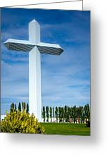 The Cross At Effingham Illinois Greeting Card