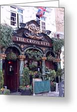 The Cross Keys Greeting Card