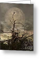 The Crow Tree Greeting Card