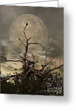The Crow Tree Greeting Card