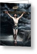 The Crucifixion Greeting Card