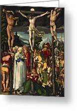 The Crucifixion Of Christ Greeting Card