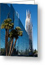 The Crystal Cathedral  Greeting Card