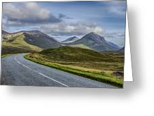 The Cuillin Mountains Of Skye 2 Greeting Card