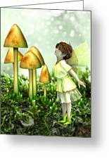 The Curious Fairy Greeting Card