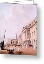 The Custom House, From London Greeting Card