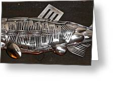 The Cutlery Fish Greeting Card