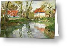 The Dairy At Quimperle Greeting Card