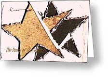 The Dance Of The Stars Greeting Card