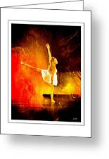 The Dancer 2 Greeting Card