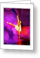 The Dancer 3 Greeting Card