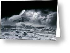 The Dark Storm Greeting Card
