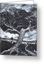 The Darkening Tree Greeting Card