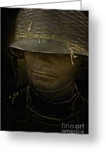 The Darkness Of War Greeting Card