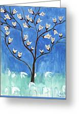 The Darling Buds Of February Greeting Card