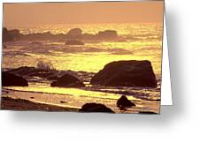 The Dawn Is Breaking  Greeting Card