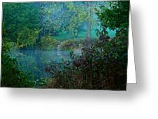 The Dawn Of Tranquility Greeting Card