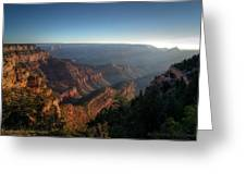 The Day Begins Grand Canyon Greeting Card