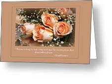 The Days Of Wine And Roses Greeting Card