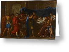 The Death Of Germanicus Greeting Card by Nicolas Poussin