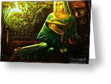 The Death Of Ruth- Private Art Collection-buy Giclee Print Nr 33 Of Limited Edition Of 40 Prints Greeting Card