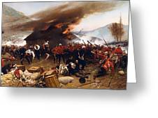 The Defence Of Rorke's Drift 1879 Greeting Card