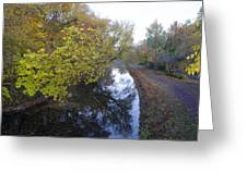 The Delaware Canal In Morrisville Pa Greeting Card