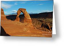 The Delicate Arch 10 Greeting Card