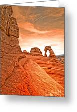 The Delicate Arch Greeting Card